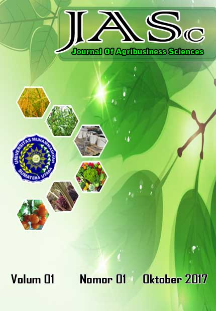 """JASc"" Journal Of Agribusiness Sciences"