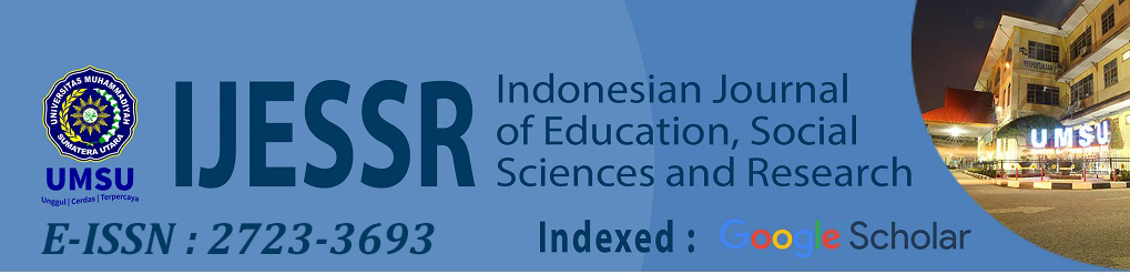 Indonesian Journal of Education, Social Science and Research
